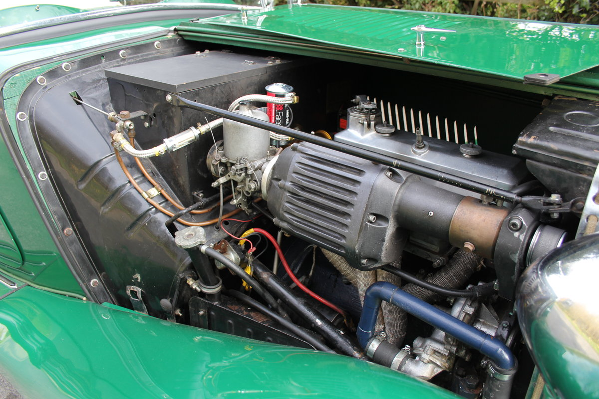1938 MG TA Supercharged - Alloy wings, 1350cc, New frame SOLD (picture 11 of 12)