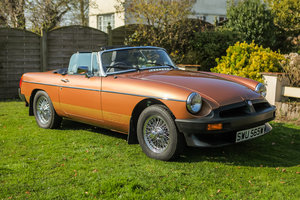 1981 MGB LE Roadster - Original/Only 40000 mls - on The Market For Sale by Auction