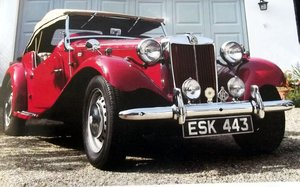 1952 MGTD concours condition For Sale
