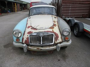 1961 MG A Coupe For Restoration For Sale