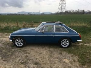 1972 MG B GT at Morris Leslie Classic Auction 25th May SOLD by Auction