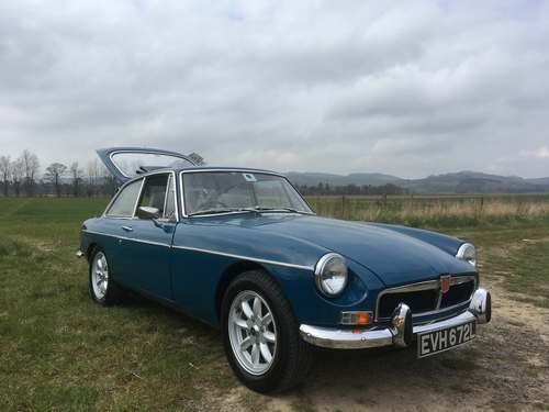 1972 MG B GT at Morris Leslie Classic Auction 25th May SOLD by Auction (picture 3 of 6)