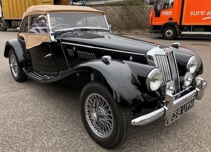 1954 MG TF for sale by auction