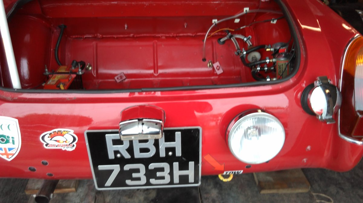 1970 MG Midget Historic Rally/Sprint/Hillclimb. For Sale (picture 1 of 6)