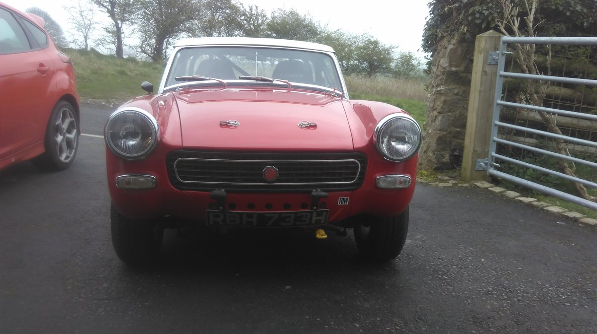 1970 MG Midget Historic Rally/Sprint/Hillclimb. For Sale (picture 2 of 6)