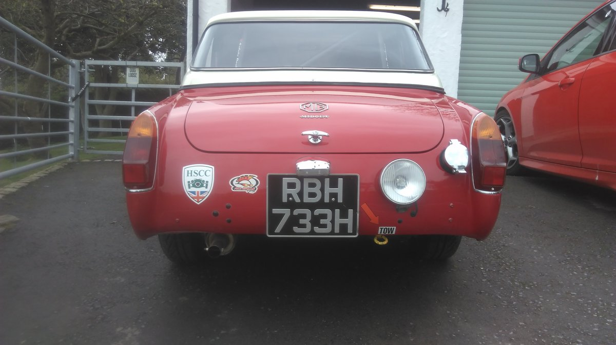 1970 MG Midget Historic Rally/Sprint/Hillclimb. For Sale (picture 4 of 6)