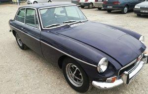1974 MGB GT Dark purple
