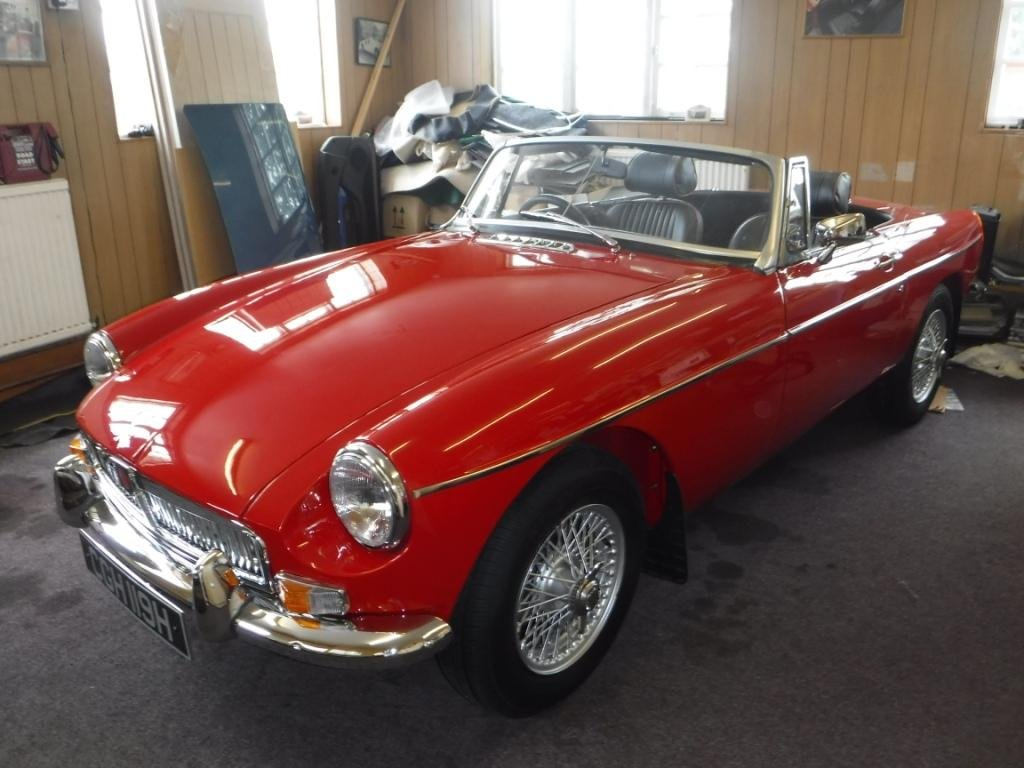 1969 MGB Roadster 1800cc For Sale (picture 1 of 4)