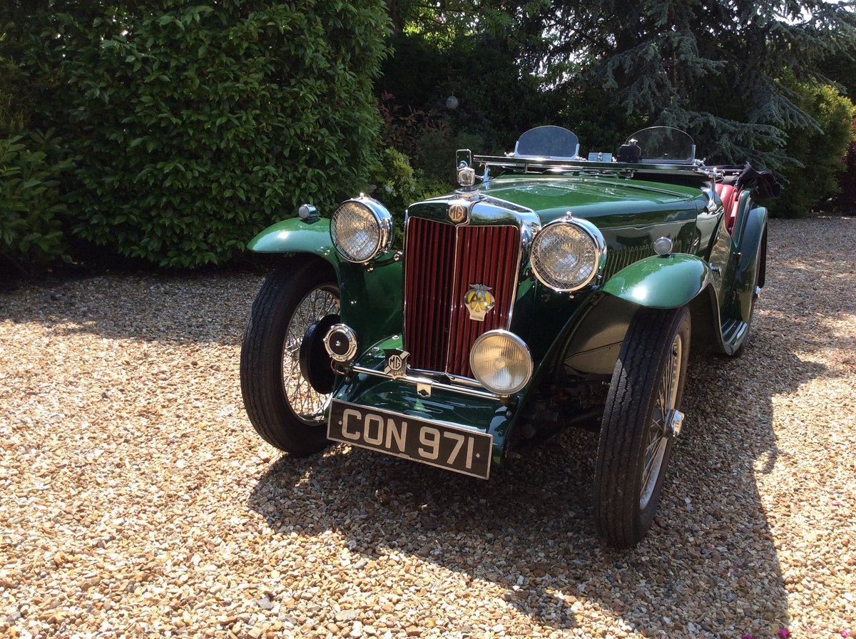 1936 MG TA Midget SOLD (picture 1 of 6)