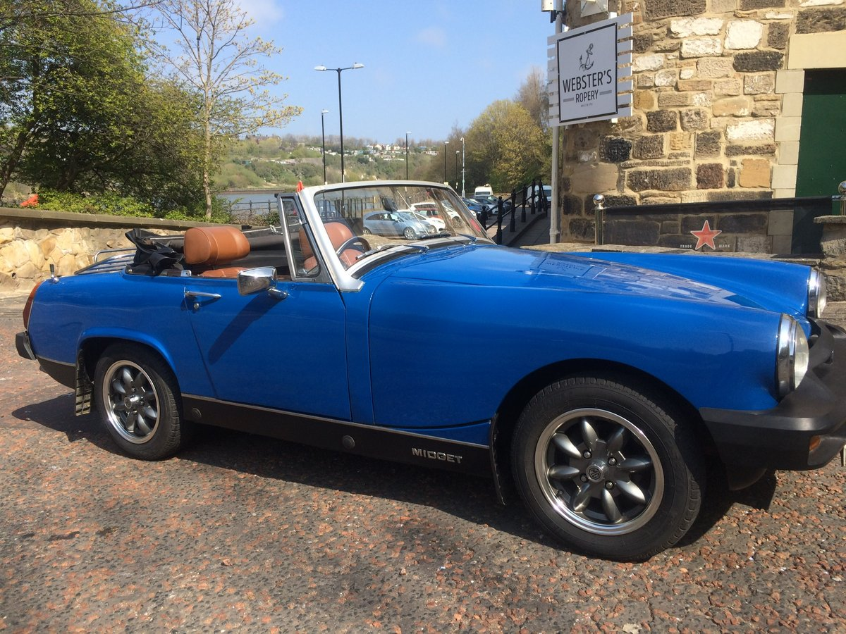 1977 MG Midget SOLD (picture 1 of 6)