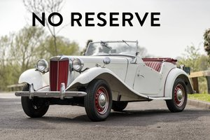 1950 MG TD - Genuine Car & New Interior - on The Market SOLD by Auction