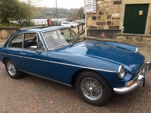 1974 Absolutely lovely chrome bumper MGB GT SOLD