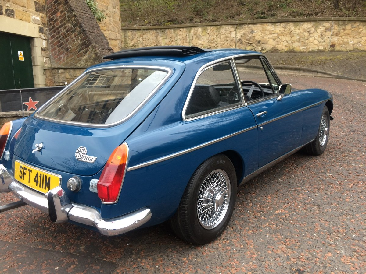 1974 Absolutely lovely chrome bumper MGB GT SOLD (picture 4 of 6)