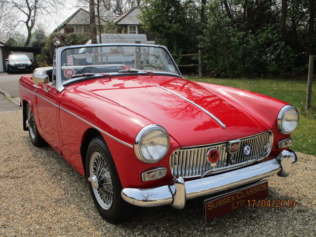 1968 MG Midget 1275 (Stunning Condition Throughout) SOLD (picture 1 of 6)