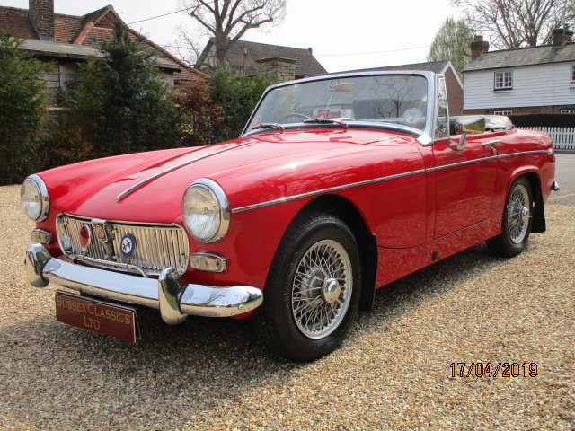 1968 MG Midget 1275 (Stunning Condition Throughout) For Sale (picture 2 of 6)
