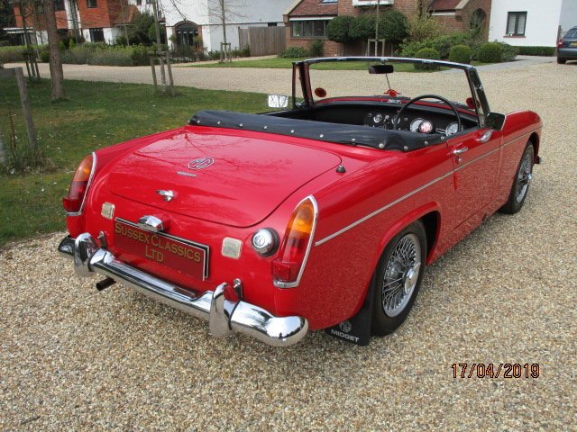 1968 MG Midget 1275 (Stunning Condition Throughout) For Sale (picture 3 of 6)