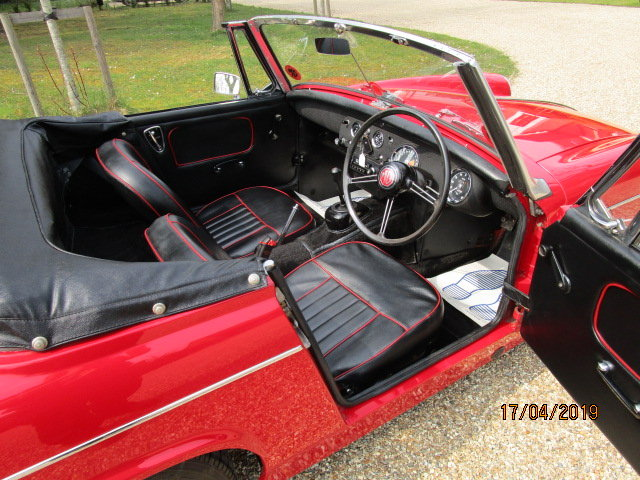1968 MG Midget 1275 (Stunning Condition Throughout) For Sale (picture 4 of 6)