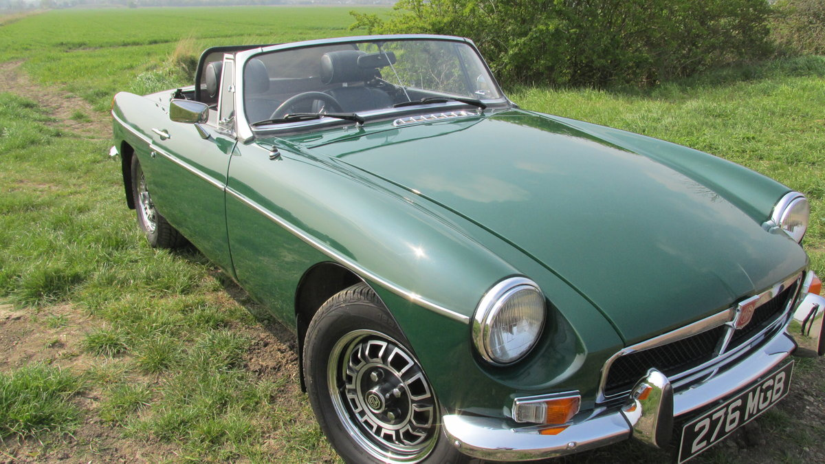 1976 MGB V8 Roadster For Sale (picture 1 of 6)