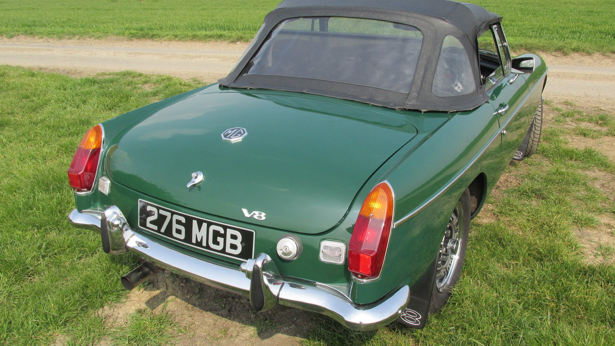 1976 MGB V8 Roadster For Sale (picture 5 of 6)