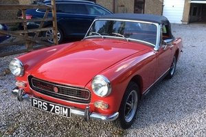 1974 MG MIdget MkIII For Sale by Auction