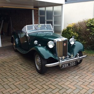 1953 MG TD in BRG For Sale