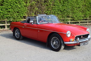 1970 MGB Roadster For Sale by Auction