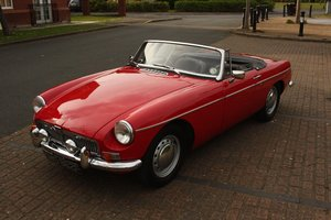 1968 Mk1 MGB Roadster - Tartan Red, Disc Wheels, Older Resto SOLD