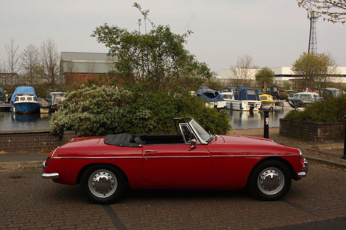 1968 Mk1 MGB Roadster - Tartan Red, Disc Wheels, Older Resto SOLD (picture 6 of 6)