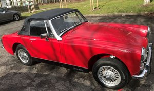 MG MIDGET FULL RESTORED 1973 HERITAGE SHELL