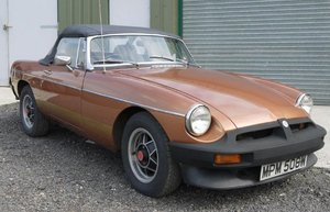 1981 MGB Roadster LE Limited Edition SOLD