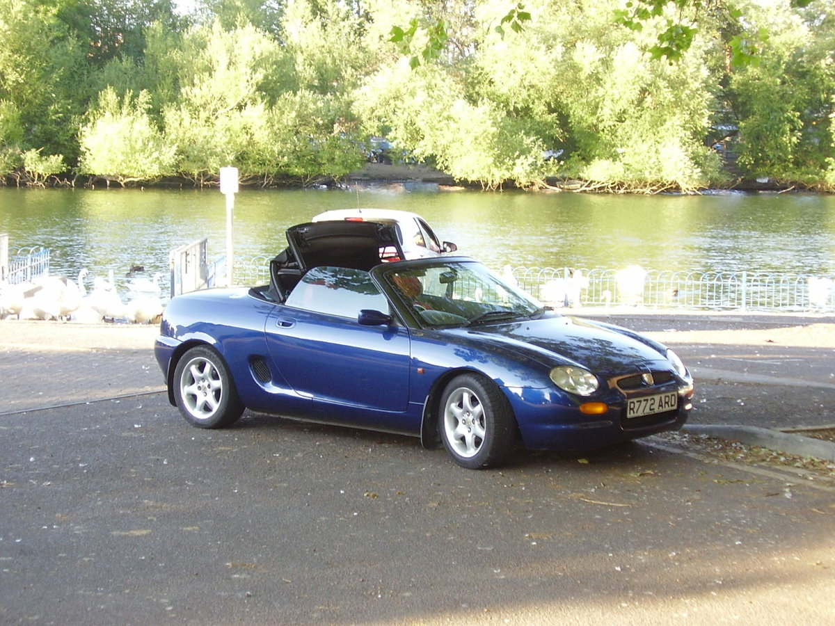 1997 Blue MGF, inexpensive starter classic, 12 mths MOT For Sale (picture 1 of 6)