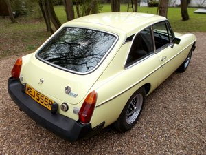 MG BGT  1977 Nice Clean Example  For Sale