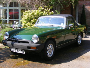 1979 Mg Midget Brooklands Green