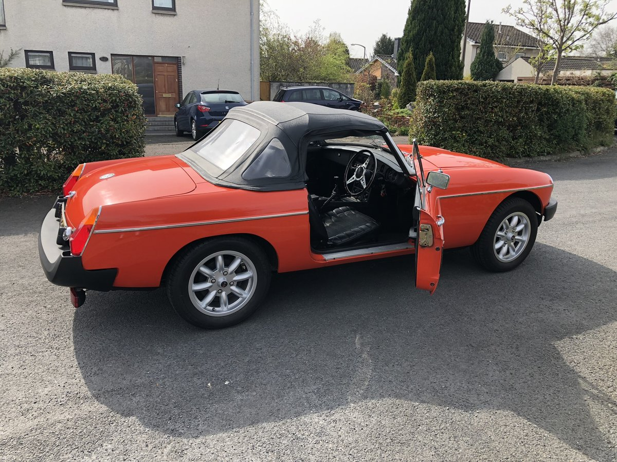 1981 MGB Roadster For Sale (picture 1 of 6)