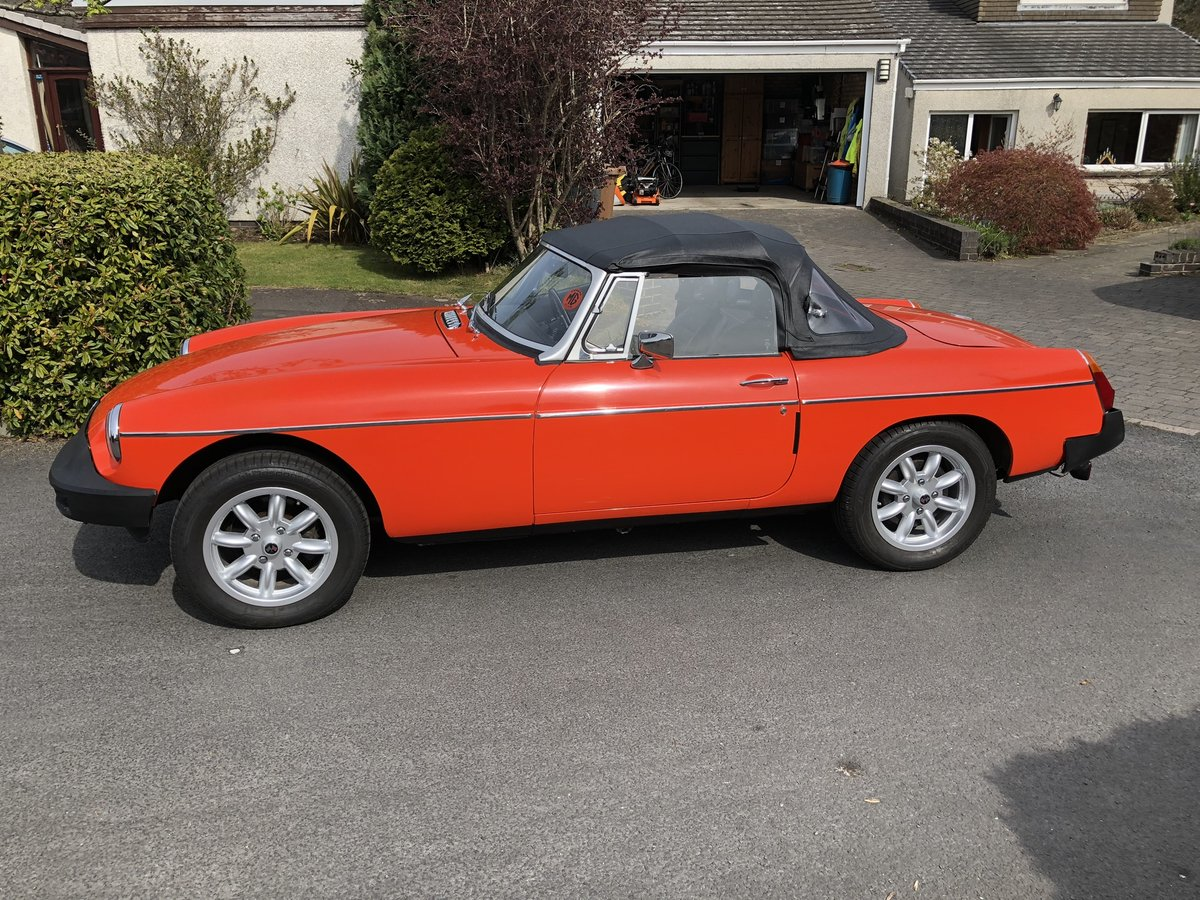1981 MGB Roadster For Sale (picture 2 of 6)