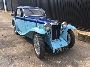 1934 MG PA Airline Coupe - Reserved SOLD