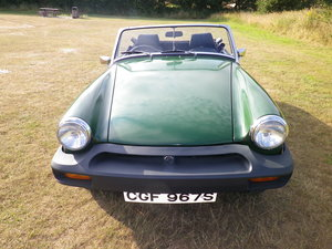 1978 Restored MG Midget 1500