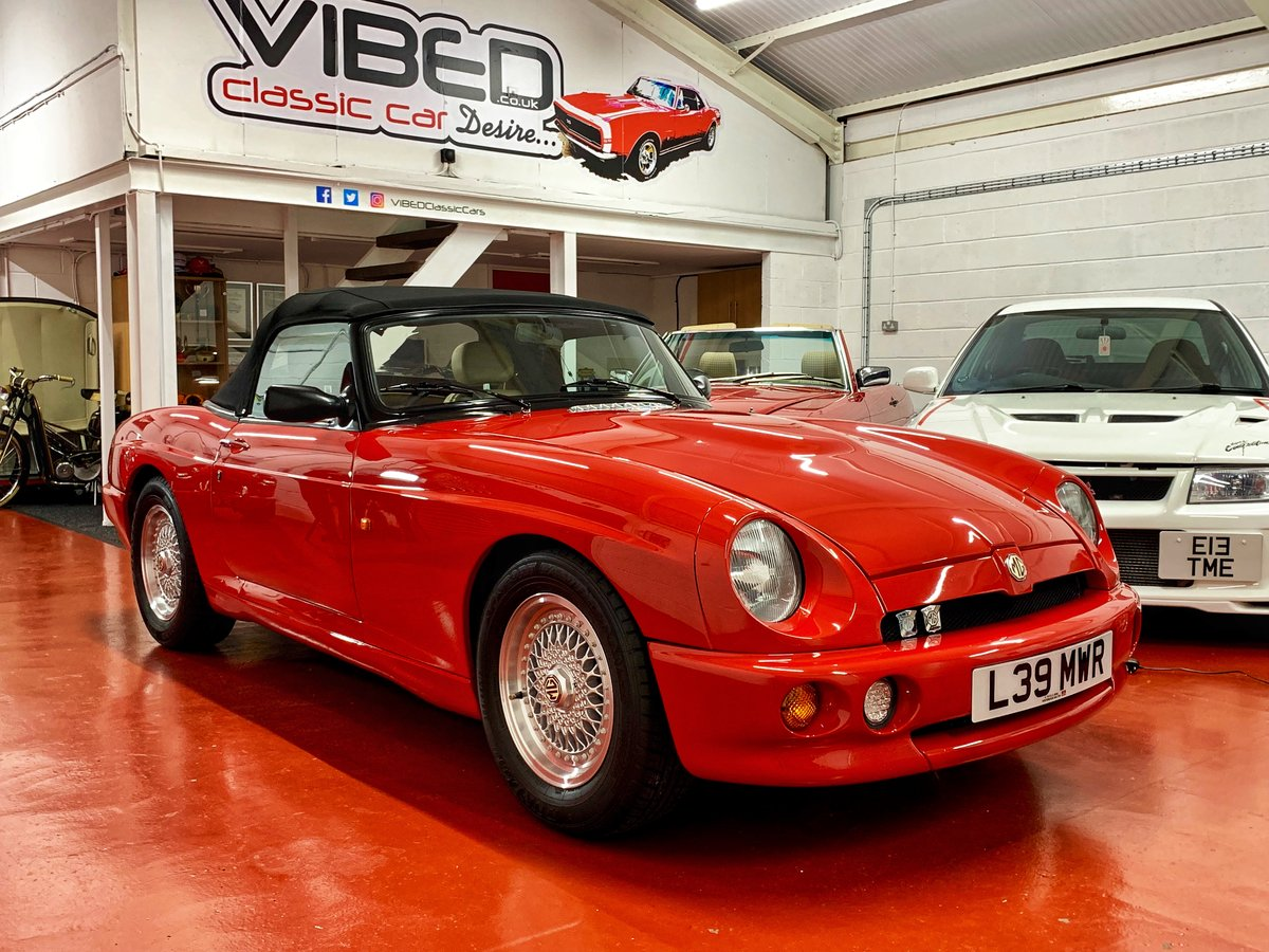 1993 MG RV8 // 24k Miles // NOW SOLD SIMILAR CLASSICS REQUIRED For Sale (picture 1 of 6)