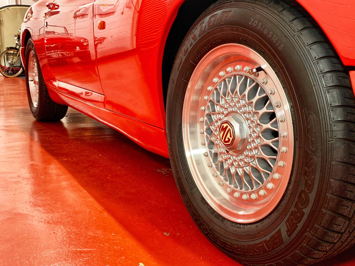 1993 MG RV8 // UK Car 1 0f Only 15 In Flame Red // 24K Miles For Sale (picture 6 of 6)