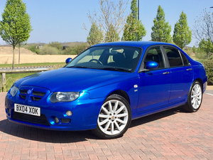 2004/04 MG ZT 2.5 V6 190 4DR MG SERVICE HISTORY + 57K MILES For Sale