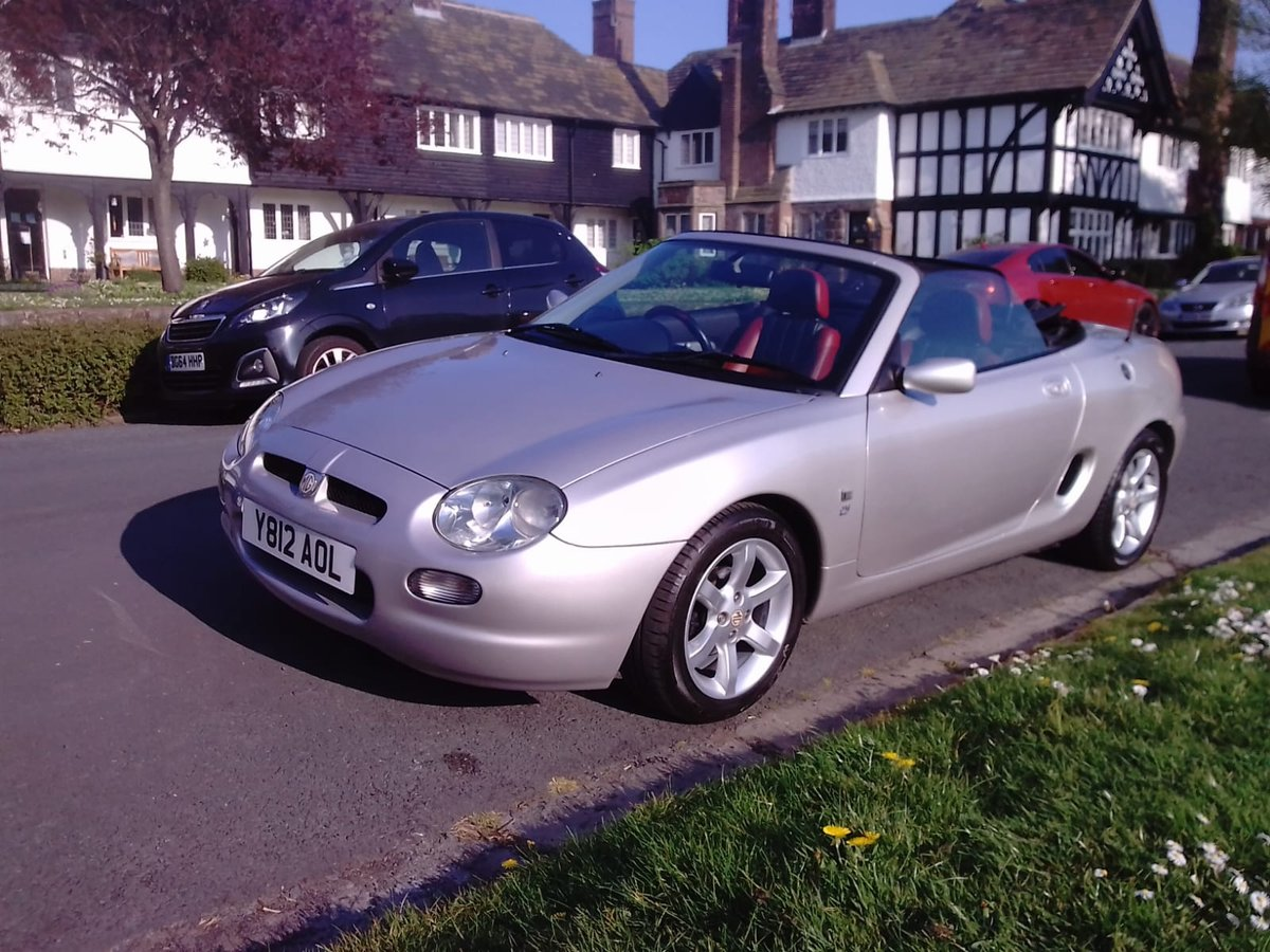 2001 MG F STEPOTRONIC  AUTO  IN OUTSTANDING CONDITION For Sale (picture 2 of 6)