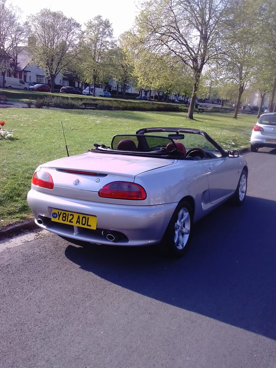 2001 MG F STEPOTRONIC  AUTO  IN OUTSTANDING CONDITION For Sale (picture 5 of 6)