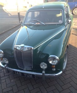 1953 For sale.  1956  mg. magnette