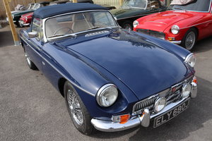 MGB V8 Roadster,1970, Special build SOLD