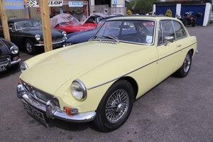 1968 MGB GT MK2 in Primrose,bare shell rebuild