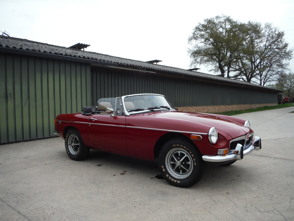 1979 Nice MGB, original paint, no rust For Sale (picture 2 of 6)