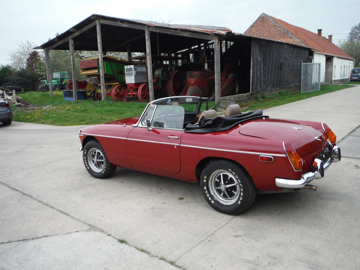 1979 Nice MGB, original paint, no rust For Sale (picture 4 of 6)