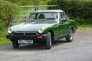 1977 MG Midget Full Heritage Shell For Sale