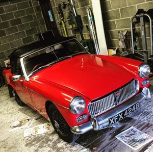 1964 Opportunity To Own Rare MG Midget MK2 - 1098cc For Sale