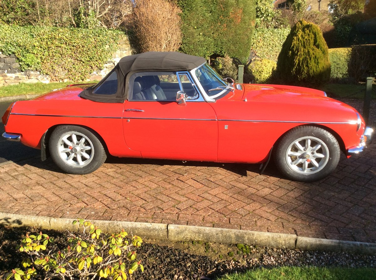 1971 MGB roadster  For Sale (picture 1 of 6)